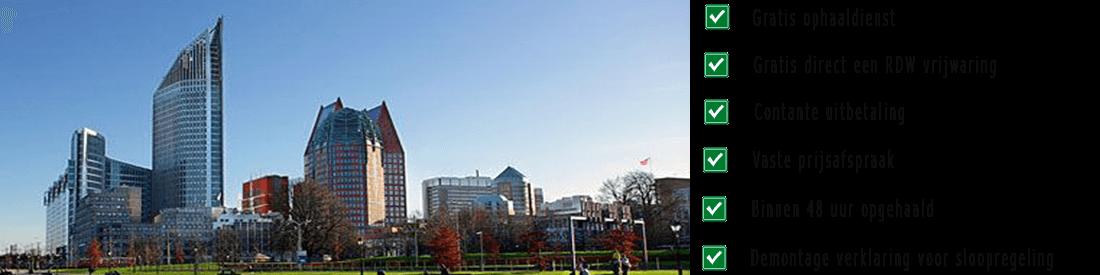 Sloopauto Den Haag makkelijk en snel uw sloopauto verkopen