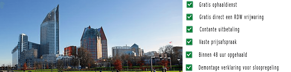Schadeauto inkoopDen Haag
